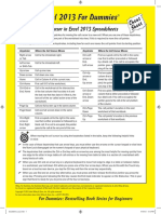 Cheat Sheet from Excel 2013.pdf
