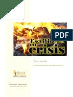 Varios autores - Escribir en crisis.pdf