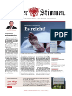 Tiroler Stimmen, Ausgabe 3-2019