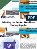 The Value of Hosting WordPress on the WordPress Host