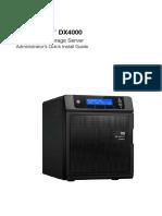 WD WDBLGT0080KBK-NESN Sentinel DX4000 Office Storage Server Quick Install Guide
