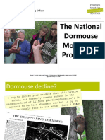 The National Doormouse Monitoring Programme