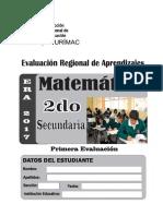 MATEMTICA - SECUNDARIA