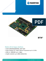 Datasheet Etx Pm