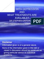 What is Depression and what tretments are available-Clonard (irishsept16)