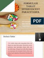FORMULASI TABLET EFFERVESCENT PARACETAMOL.pptx