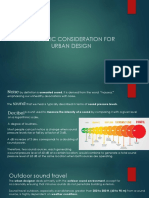 ACOUSTIC CONSIDERATION FOR URBAN DESIGN ppt (1)