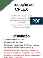 Apresentação - introdução ao CPLEX