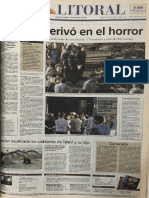 15 años de la tragedia de Cromañón