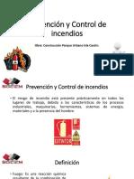 prevencion y control de incendio