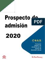 Prospecto COAR-2020-JR