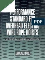 ASME HST-4-1999_Performance Standard for OverHead Electric Hoist.pdf