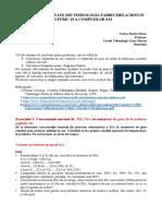 PROBLEME REZOLVATE DIN TEHNOLOGIA ACIDULUI SULFURIC_MATERIE PRIMĂ_SULF