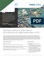 Capgemini public reference Tata Steel