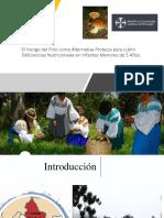 El Hongo del Pino como Alternativa Proteica para cubrir Déficiencias Nutricionales en Infantes