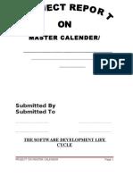 Language Project Master Calender c++