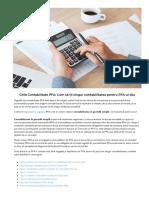 Contabilitate PFA_ Ghid Complet 2019 _ Cum sa tii singur contabilitate PFA