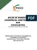 FICCI Rules of Domestic Commercial Arbitration & Conciliation.docx