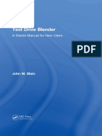 Blain, John M - Test drive blender_ a started manual for new users (2017, CRC Press)