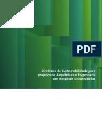 Diretrizes de Sustentabilidade para Projetos de Arquitetura e Engenharia em Hospitais Universitários
