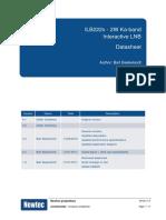 ILB222x - Datasheet