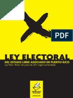 Ley Electoral Del Estado Libre Asociado de Puerto Rico - (Edición de Agosto 2016)