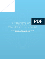 7 TRENDS FOR WORKFORCE 2020
