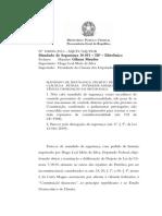 MS 30051 - Controle material de constitucionalidade do PL - nao cabimento - LF
