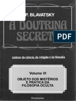 Helena Petrovna Blavatsky - A Doutrina Secreta - 6 Menor