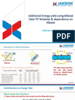 Bifacial PV modules ISES Webinar
