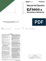 Manual pala hidraulica EX 5600-6