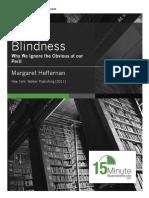 Willful Blindness- By Margaret Heffernan