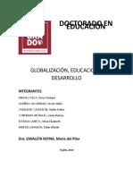 ENSAYO GLOBALIZACIÓN EDUCACION Y DESARROLLO