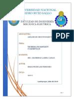 TEOREMA DE BARTLETT Y CUADRIPOLOS