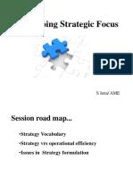 Strategic Focus-AME