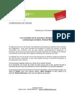 """Communiqué de presse sur les """"incivilités de fin d'année"""" à Strasbourg"""