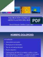 HOMBRO valoracion clinica David O Cubillos L