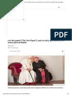 Los dos papas (_The Two Popes_)_ qué es real y qué ficción en el nuevo éxito de Netflix - BBC News Mundo