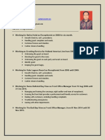 Anom's CV
