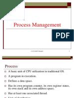 Lect9 - Process Management