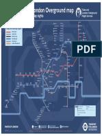 London Night Tube Map