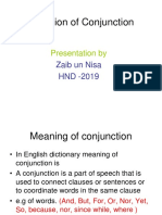presentation on Conjuction.ppt