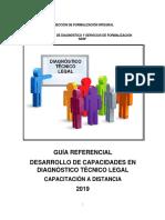 Guía referencial - Desarrollo de capacidades  Oficinas Zonales 2019