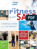 New Year's Fitness SALE