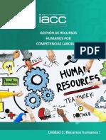 Unidad_1_GRRHHCL_Recursos humanos gestión de competencia