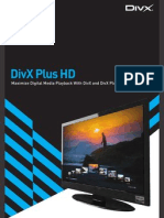 DivX Plus HD Brochure