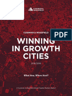 C&W Winning in Growth Cities Report 2018 - 2019