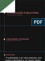COMUNICAÇAO PUBLICITARIA AULA 5