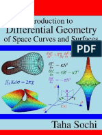 Taha Sochi - Introduction to Differential Geometry of Space Curves and Surfaces (2017, CreateSpace Independent Publishing Platform)