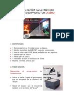 Guía Rápida para Fabricar un Proyector LCD